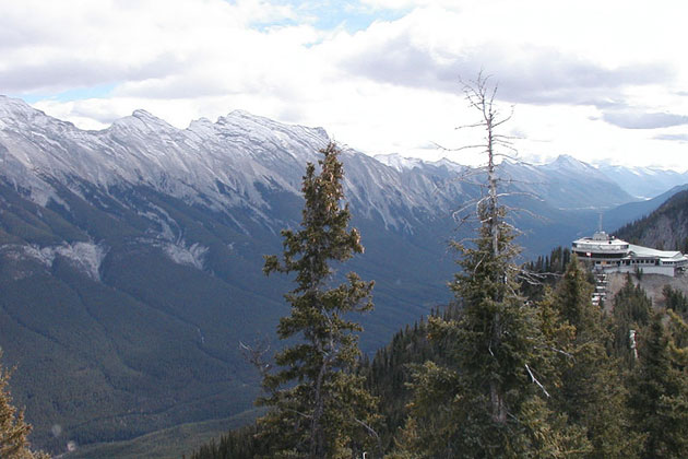 On Top of Sulfur Mountain - Banff NP