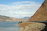 Rocky Mountaineer between Kamloops and Vancouver