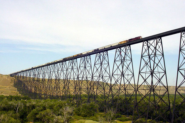 Lethbridge Railroad Bridge