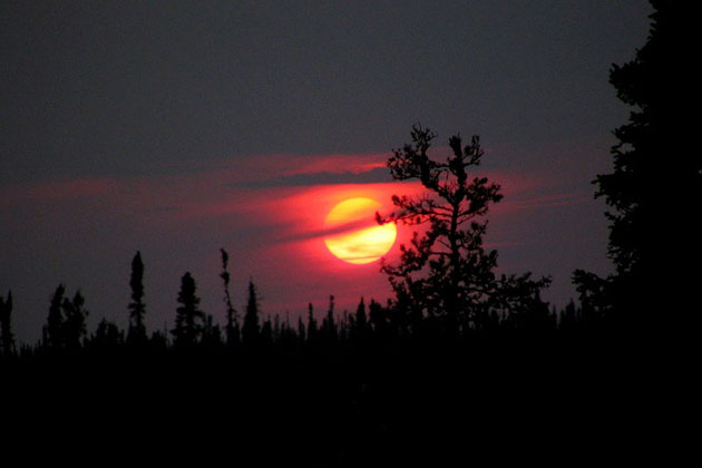 Northern Saskatchewan Sunset