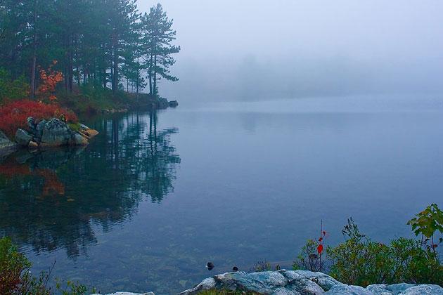 Acid Lake - Killarney Provincial Park